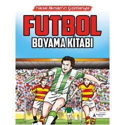 Futbol Boyama Kitabı | Yüksel Akman'ın Çizimleriyle