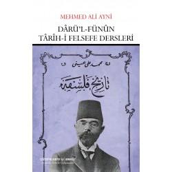 Dârü'l-Fünûn Târîh-i Felsefe Dersleri