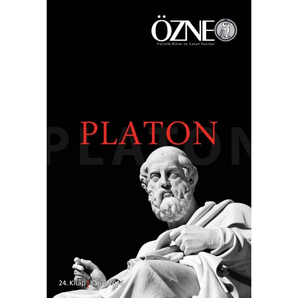 Özne Felsefe Bilim ve Sanat Yazıları    24. Kitap   Platon