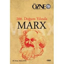 Özne Felsefe Bilim ve Sanat Yazıları  | 28. Kitap | Marx
