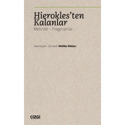 Hierokles'ten Kalanlar (Metinler - Fragmanlar)
