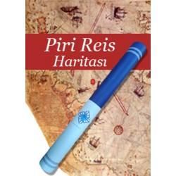Piri Reis Haritası Posteri (Kutulu)