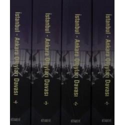 İstanbul - Ankara Olayları Davası (4 Kitap Takım)